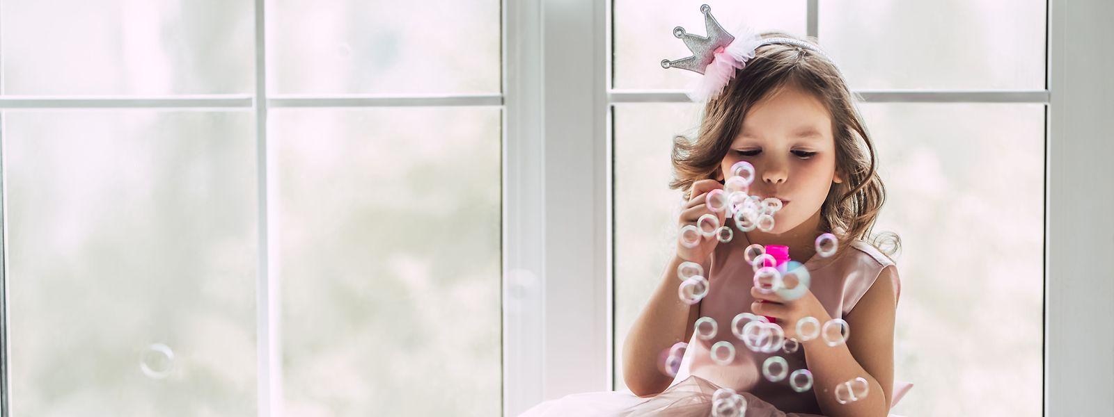 Typisch Mädchen? Dem Prinzessinnenlook sollte ein Ausgleich geboten werden.