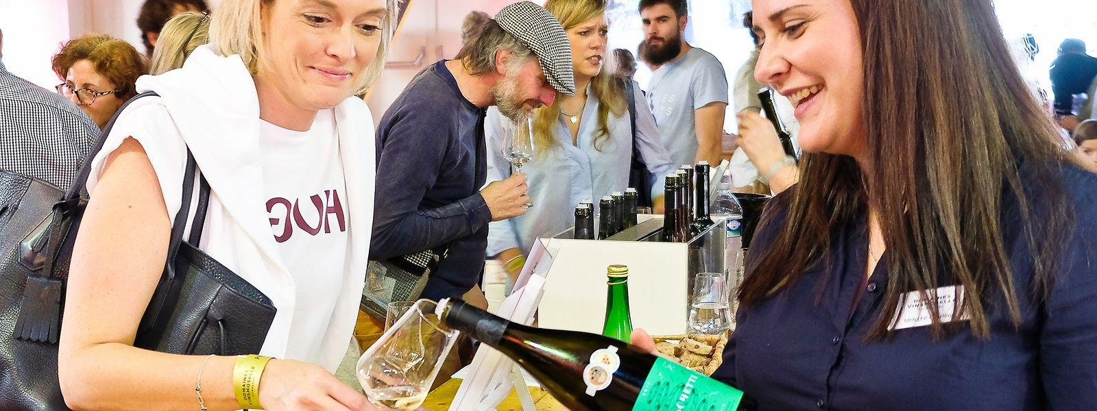 Beim Proufdag in Remerschen konnten Weinliebhaber im vergangenen Jahr noch die lokalen Weine und Crémants verkosten. In diesem Jahr ist das Fest virusbedingt abgesagt.