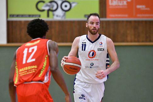 Rugg führt Basket Esch zum Sieg