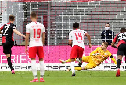 Bundesliga: Leipzig verpasst Sprung auf Platz zwei