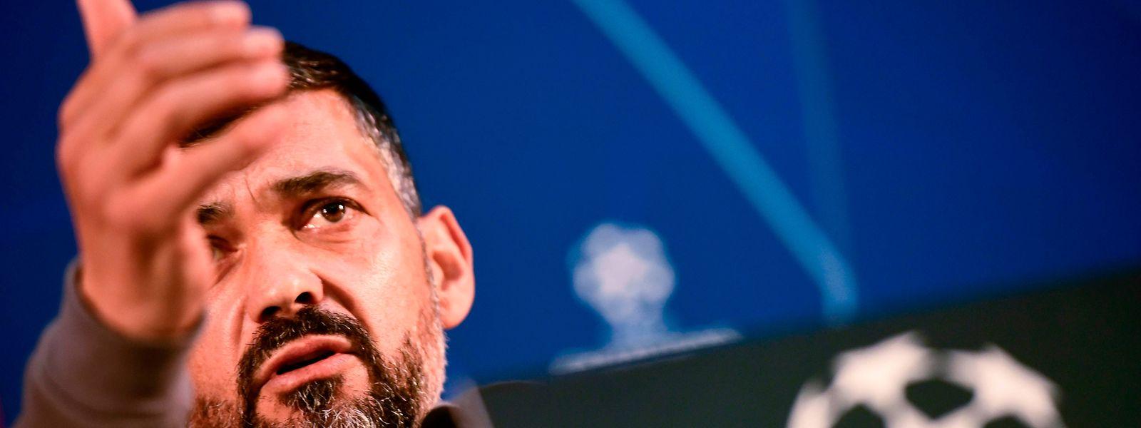 O treinador do FC Porto acredita  que a sua equipa pode chegar às meias finais.