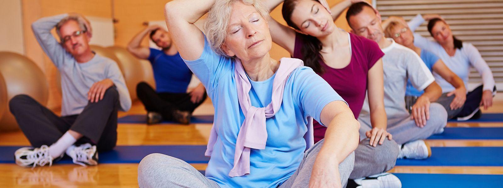 Bewegungstherapien können viele Krankheitssymptome mildern.