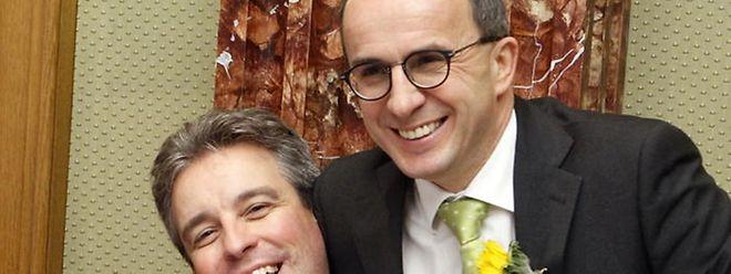Le 5 décembre 2013, Roberto Traversini est assermenté à la Chambre des députés sur le banc des Verts. Il retrouve Claude Meisch (DP), devenu ministre de l'Education nationale. Ils se connaissent par cœur puisqu'ils travaillent ensemble depuis juin 2006.
