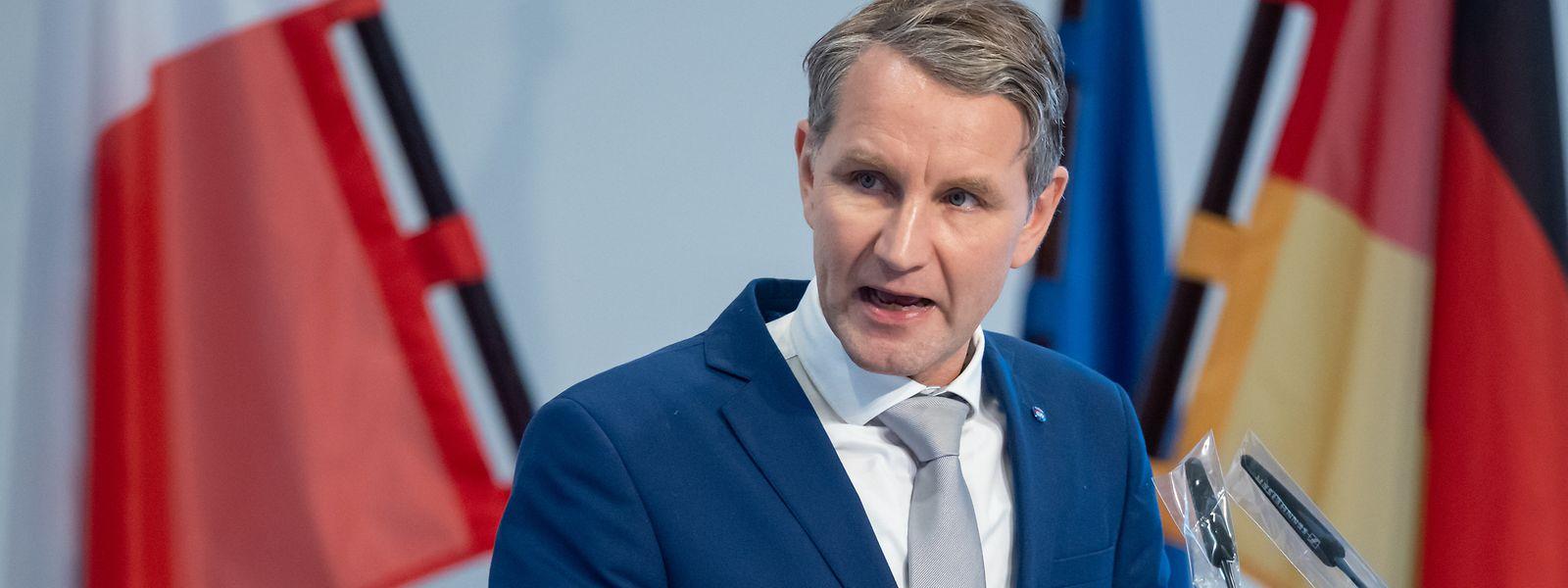 Björn Höcke, Thüringer AfD-Fraktionschef, ist einer der umstrittensten Rechtspopulisten innerhalb der AfD.
