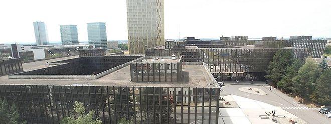 Das Jean-Monnet-Gebäude wird demnächst ein Fall für die Abrissbirne sein.