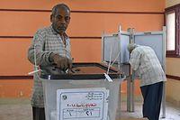 Mit 97,08 Prozent der Stimmen wurde der alte Präsident zum neuen gewählt.