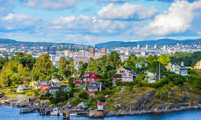 Norway's capital city, Oslo Photo: Shutterstock