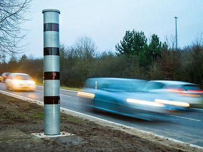 Um dos novos radares começa a funcionar hoje na estrada entre Roost e Mersch
