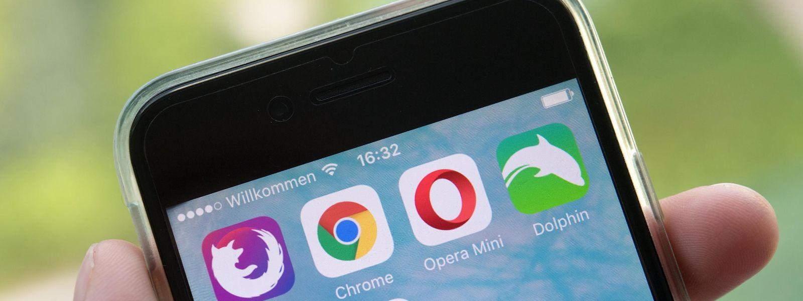 Auch auf dem Smartphone haben Nutzer die Auswahl zwischen vielen verschiedenen Browsern.