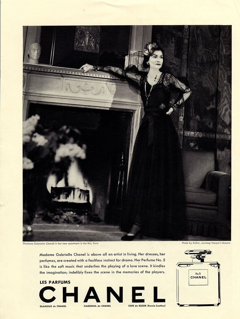 Coco Chanel war das erste Werbegesicht für die eigene Parfümkreation. Es folgten unter anderem ...