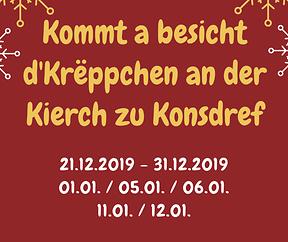 Krëppchen - Kierch Konsdref
