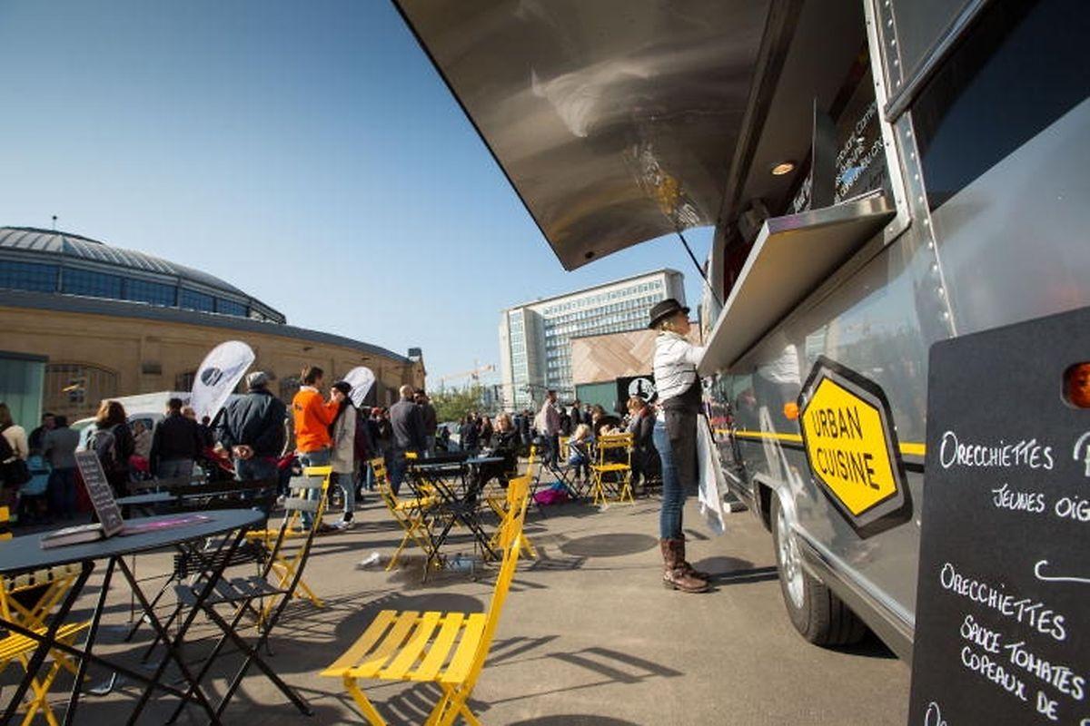 Das Streetfood-Festival bei den Rotunden hat gezeigt, dass Foodtrucks auch in Luxemburg beliebt sind.
