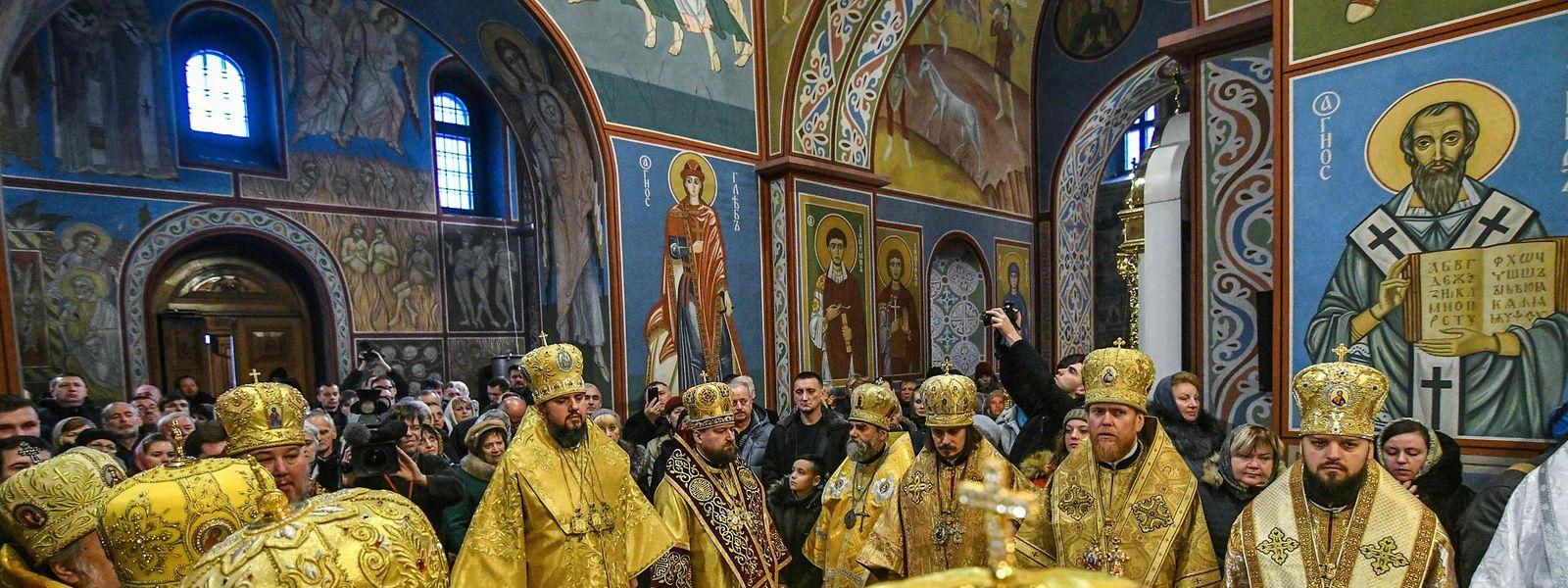 Die Gründung der ukrainischen orthodoxen Nationalkirche wird von Moskau nicht unbeantwortet bleiben.
