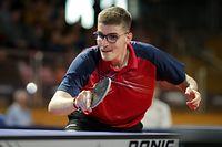 Luka Mladenovic/ Tischtennis, Tennis de table / 16.02.2020 /Nationale Meisterschaften 2020 - Audi Championnats Individuels / d'Coque - Gymnase, Luxembourg /Foto: Ben Majerus