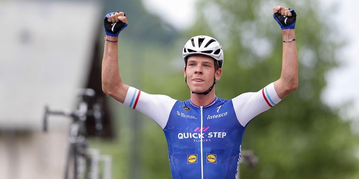 Bob Jungels ist zum dritten Mal hintereinander Luxemburger Meister im Straßenrennen geworden.