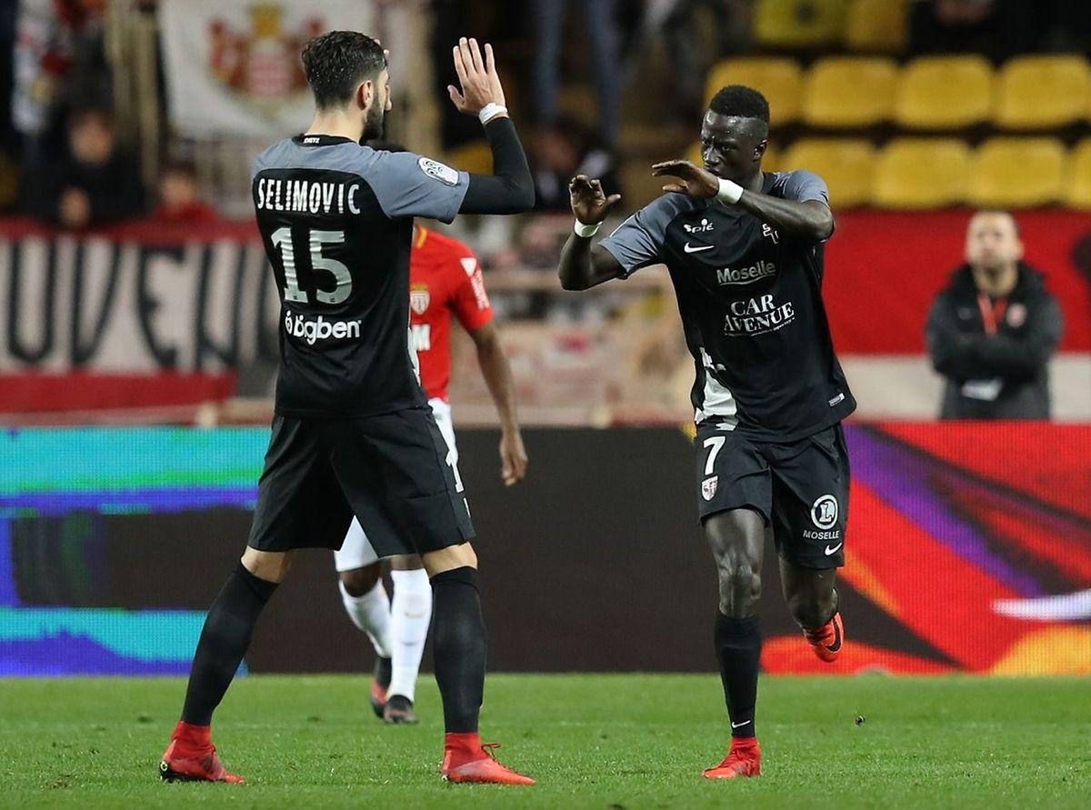 Ibrahima Niane a ramené le suspense en résuidant l'écart à 2-1. En vain.