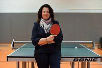 Bianca Bauer, Dudelange. Tennis de table.  Centre Sportif École Budersberg, Dudelange. Foto: Stéphane Guillaume