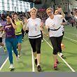 375 Teams mit 10478 Teilnehmern bekundeten ihre Solidarität mit Krebspatienten.