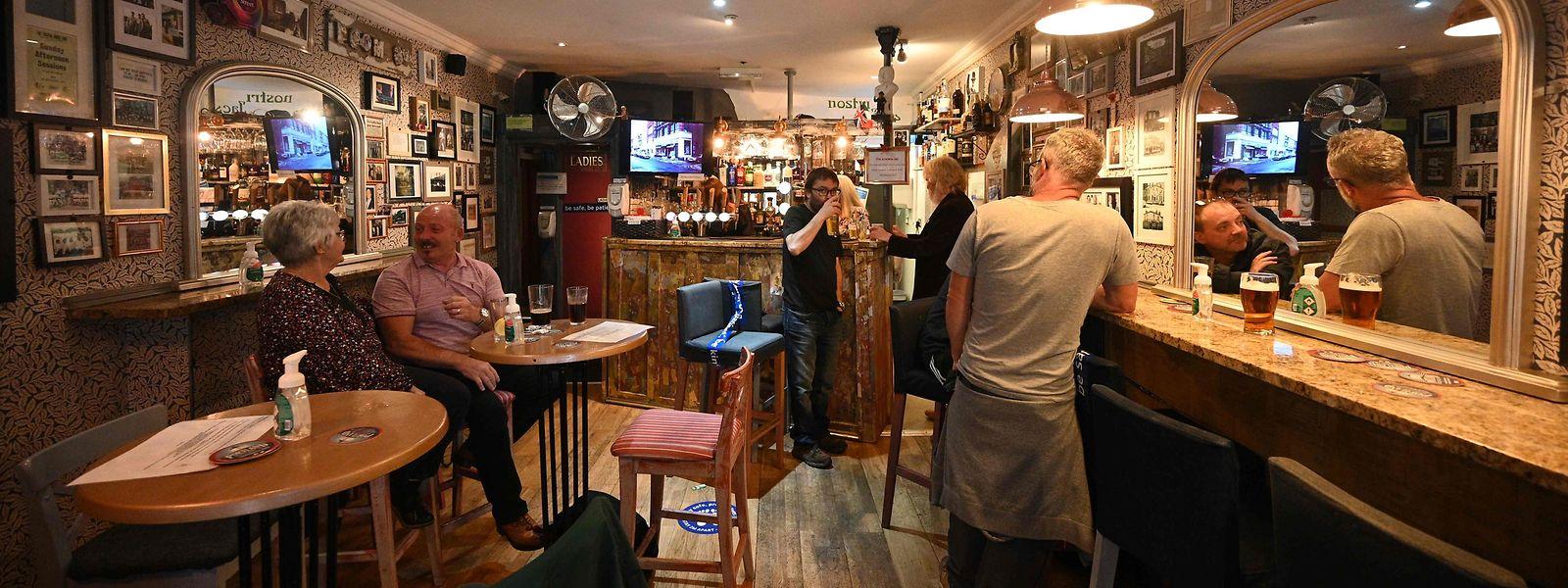 Die Pubs sind wieder geöffnet.