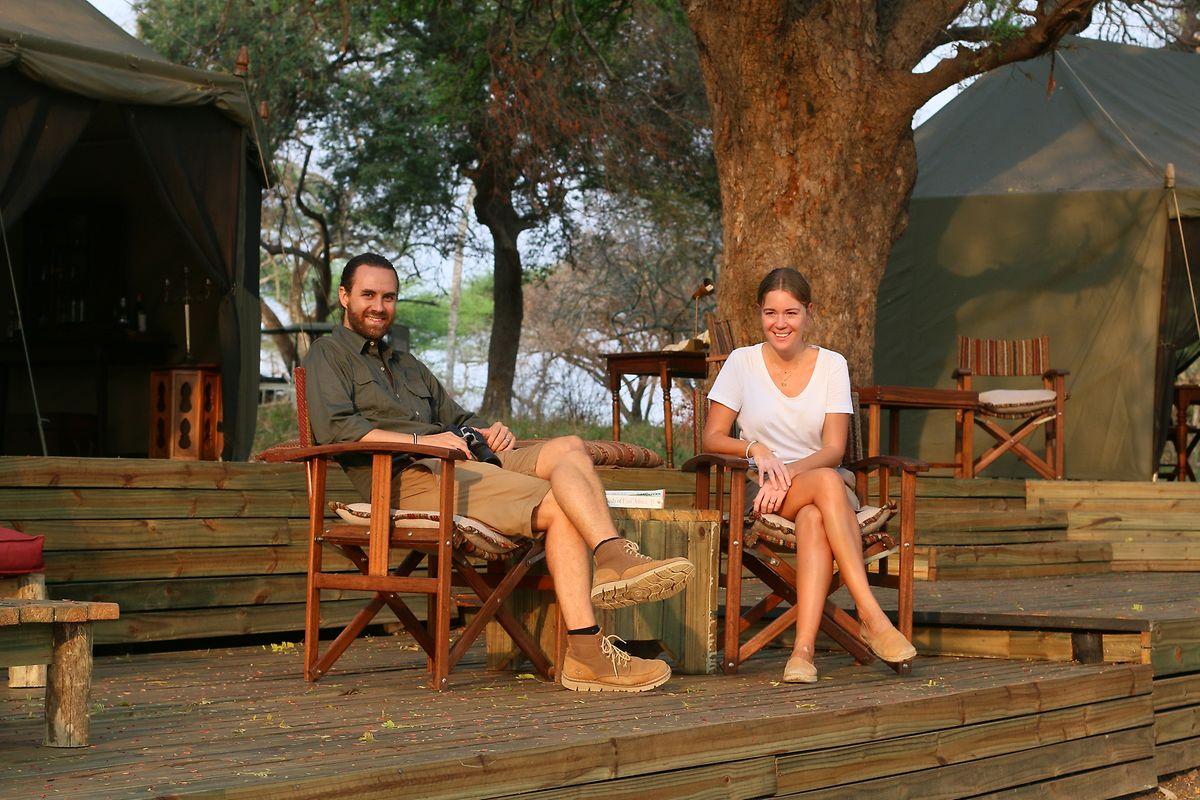 Barbara und Fabio Coccia betreiben neben ihrer Lodge auch noch ein Wohltätigkeitsprojekt in Tansania.
