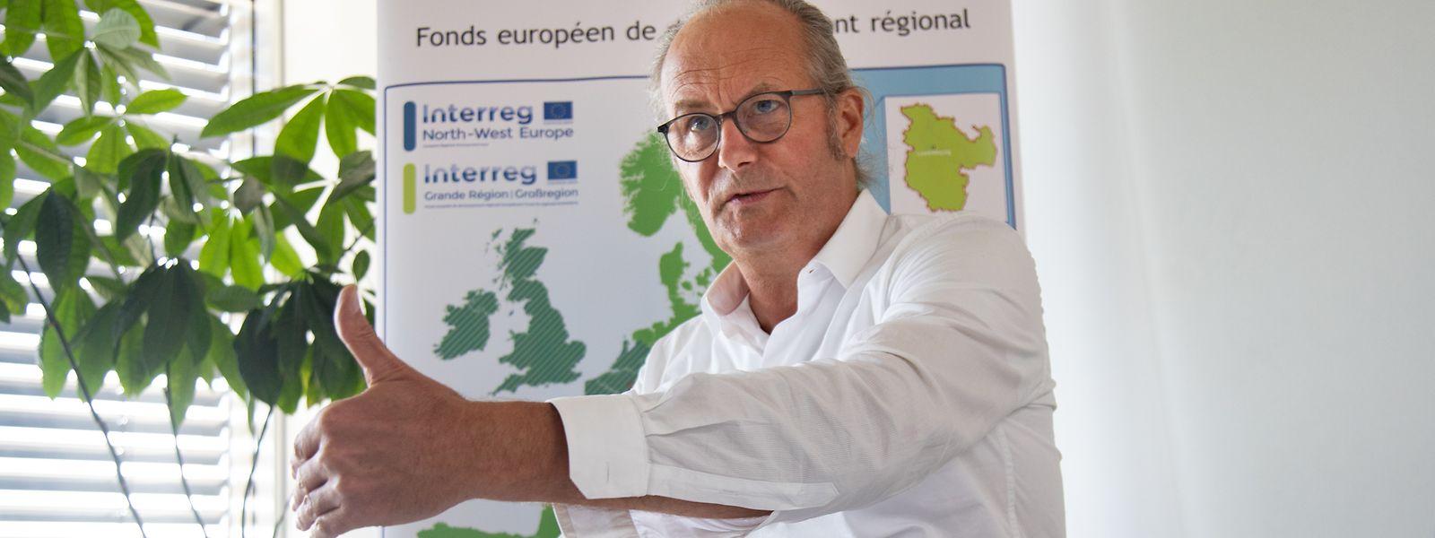 Für Landesplanungsminister Claude Turmes wird dank europäischer Interreg-Projekte die Großregion sichtbarer.
