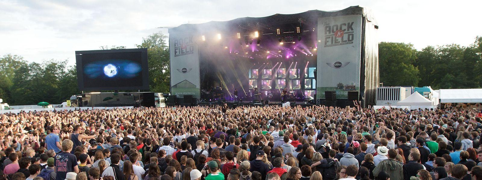 Comme sur cette photo datant de 2012, le Herchesfeld, à Roeser, fera le plein pour la venue de Rammstein.
