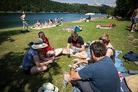 Wochenende am Stausee - Der Tag danach - COVID-19 -  Foto: Pierre Matgé/Luxemburger Wort