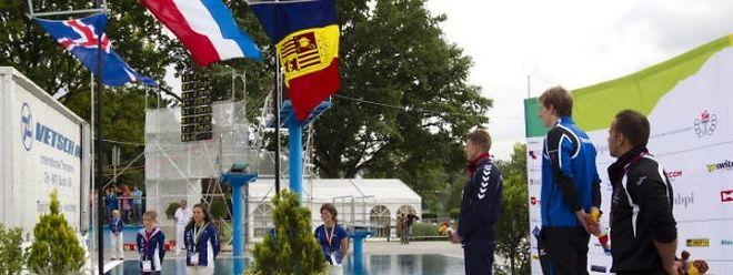 Laurent Carnol, battu la veille sur 100 m brasse, a pris sa revanche sur le double hectomètre