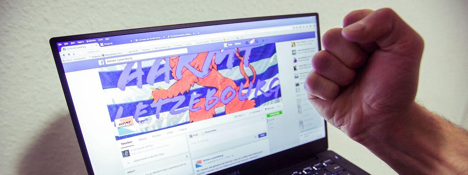 Facebook in der Kritik: Immer öfter beschäftigt sich die Justiz mit Hassparolen im Netz.