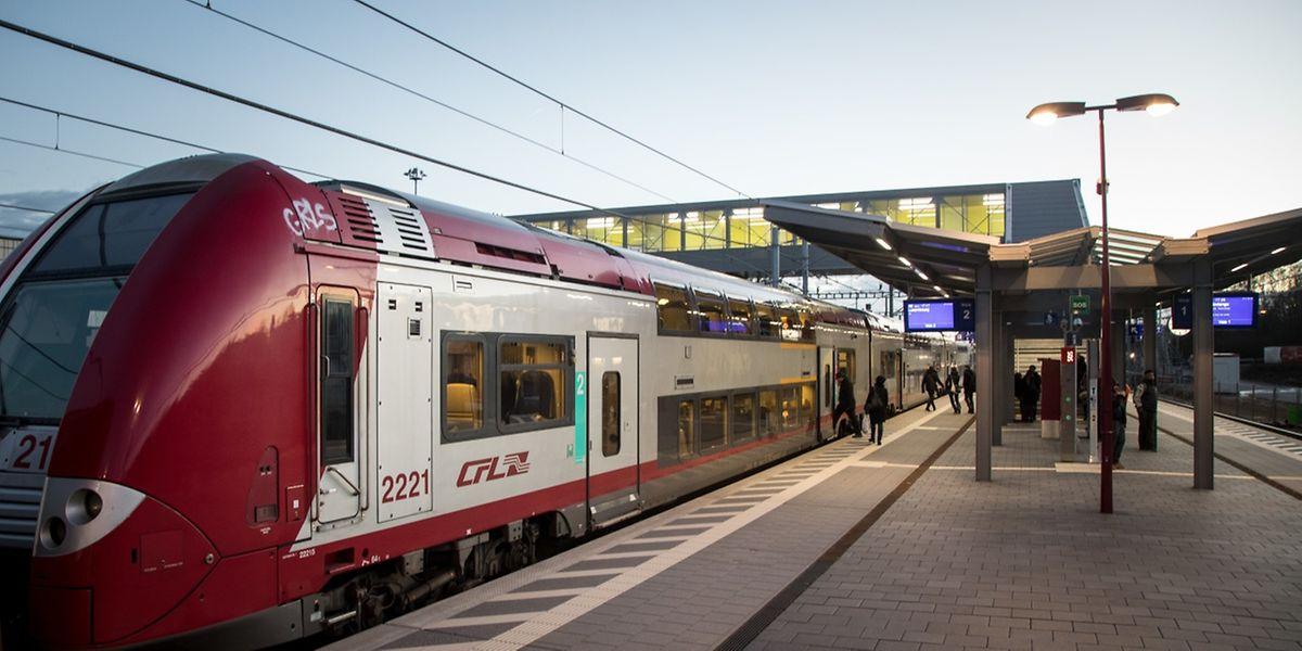 Die Kontinuität des Zugverkehrs konnte Minister Bausch zufolge 2017 in 98 Prozent der Fälle gewährleistet werden.