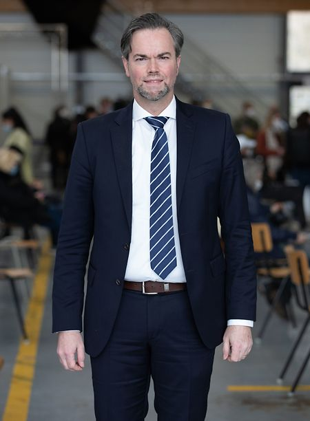 Luc Feller ist für Luxemburgs Impfkampagne verantwortlich.