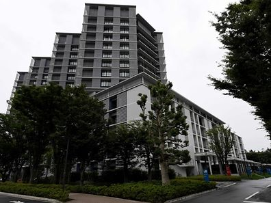 Kitazato University hospital after 13 injured people were brought from the Tsukui Yamayuri En care centre where a knife-wielding man went on a rampage in the city of Sagamihara