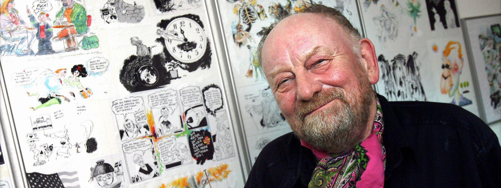 Kurt Westergaard wurde mit Mohammed-Karikaturen weltberühmt. Die Zeichnungen lösten in islamischen Ländern teils heftige Proteste aus.