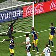 Le coup franc de Toni Kroos était parfaitement frappé.