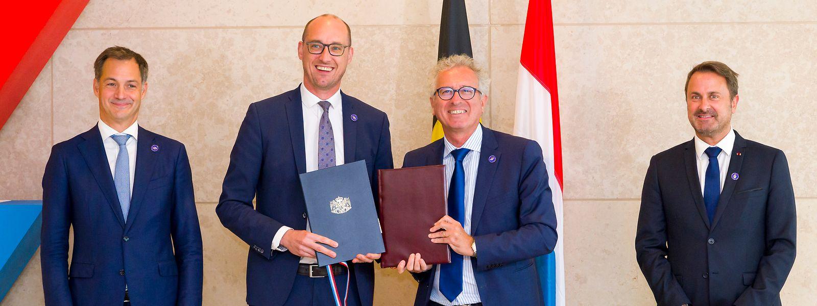 Moins d'un mois après l'accord entre Vincent Van Peteghem et Pierre Gramegna sur le passage de 24 à 34 jours du nombre légal de jours de télétravail pour les frontaliers belges, les deux gouvernements prolongent l'exception actuelle jusqu'au 31 décembre.