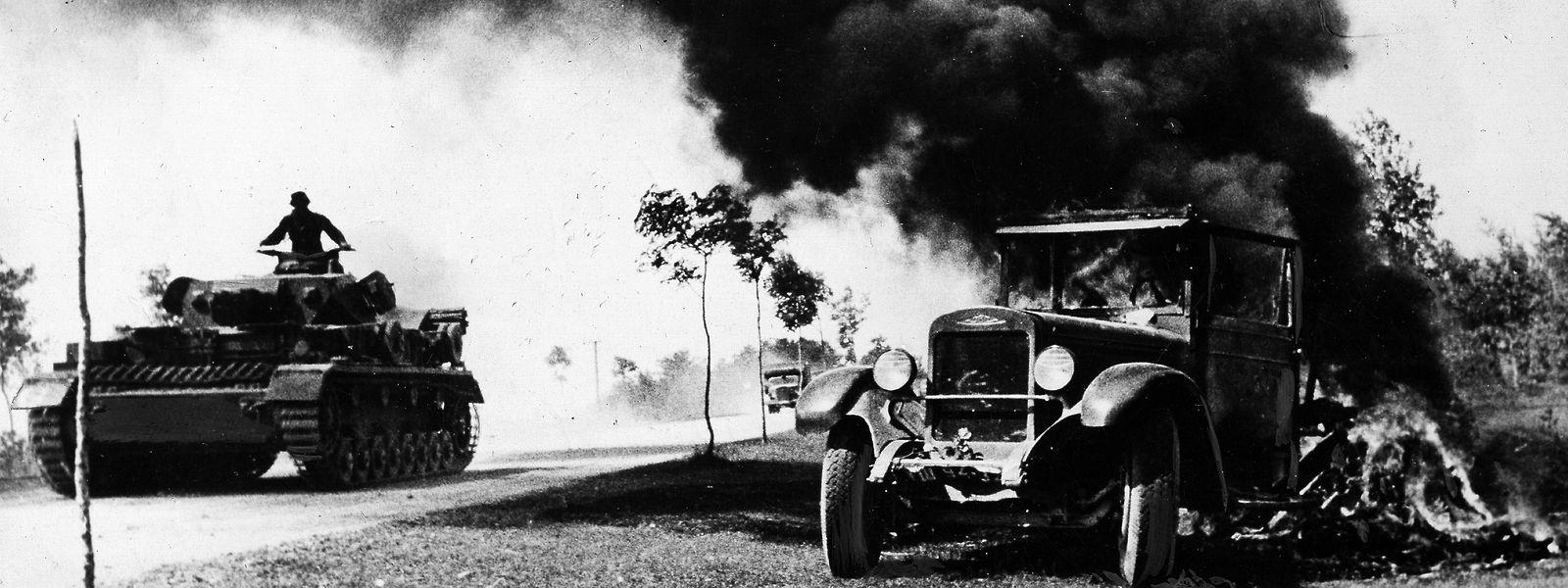 Zweiter Weltkrieg, Russlandfeldzug 1941: Deutscher Angriff auf die Sowjetunion.