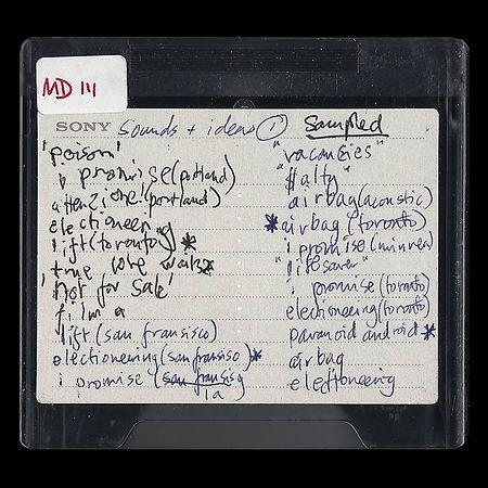 Das Cover einer der Minidiscs.