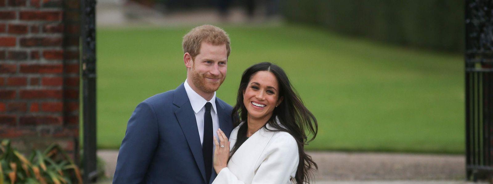 2017: Prinz Harry und Meghan kurz nach ihrer Verlobung.