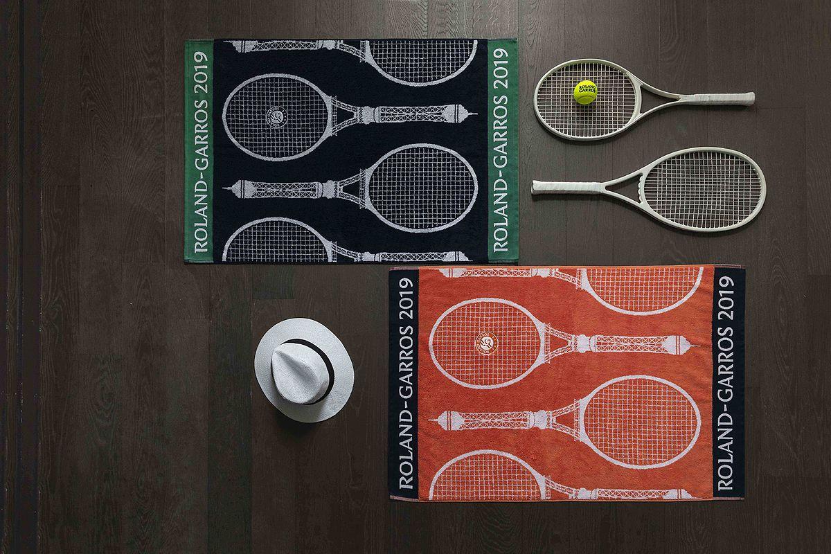 400.000 produits divers, griffés Roland Garros, seront écoulés durant les deux semaines du tournoi