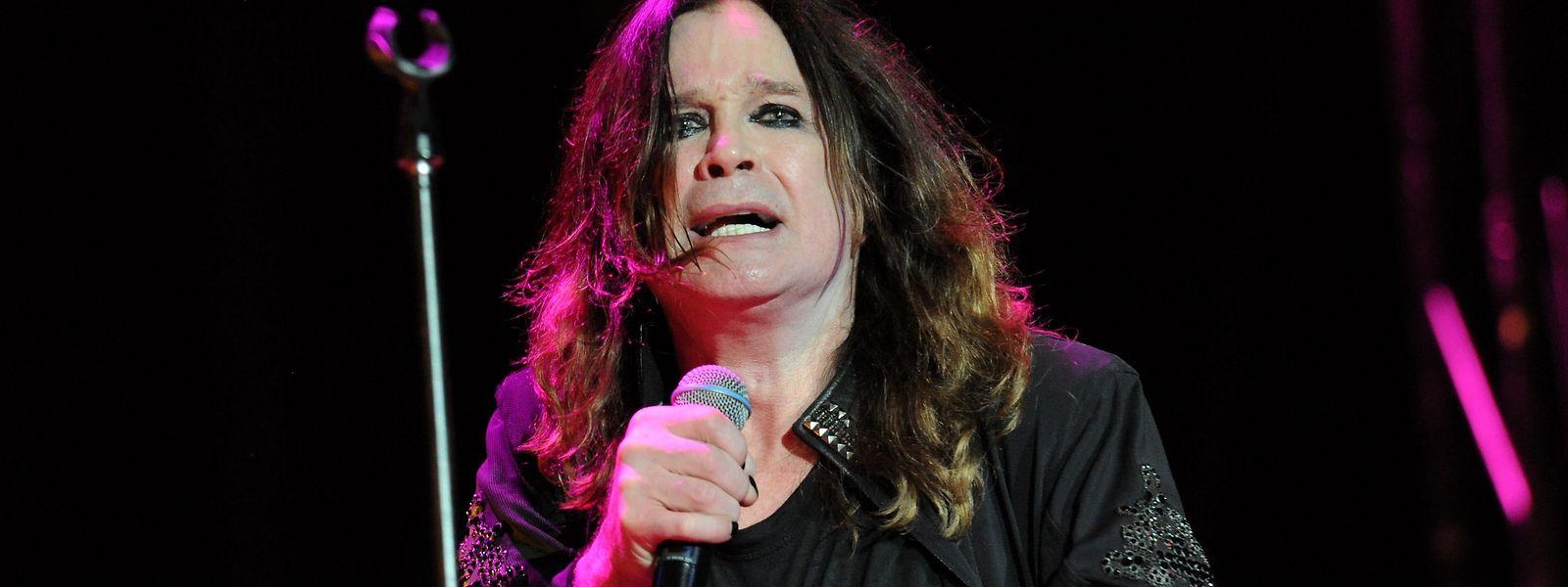 Ozzy Osbourne ist mittlerweile 70.
