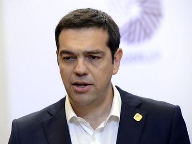Alexis Tsipras zeigte sich auf Twitter wenig erfreut über das Echo auf seine Sparmaßnahmen.