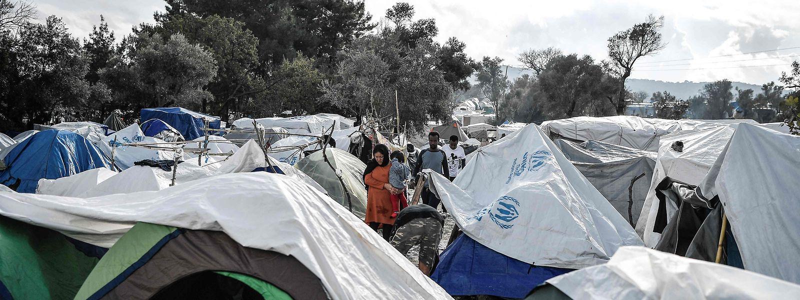 Besonders prekär ist die Lage derzeit für Griechenland: Viele Flüchtlingslager sind hoffnungslos überfüllt.