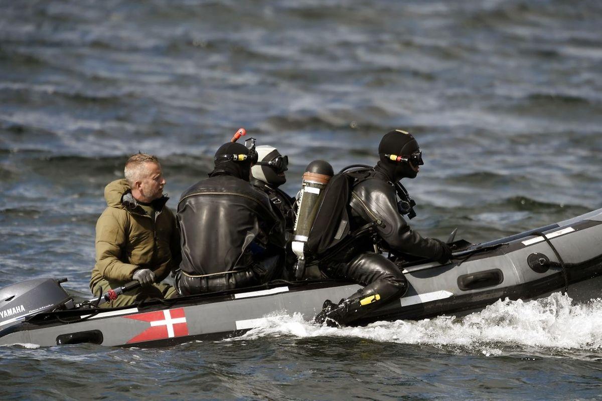 Die Polizei suchte tagelang in der Køge-Bucht südlich von Kopenhagen  nach der Leiche - schließlich fand ein Radfahrer Leichenteile am Ufer der Insel Amager.