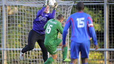 FOOT PETITES DIVISIONS FC EHLERANGE - TRICOLORE GASPERICH. Thomas Cordeiro, Jorge De Jesus. MERCREDI 02 Octobre 2013. � PHOTO/NICOLAS BOUVY