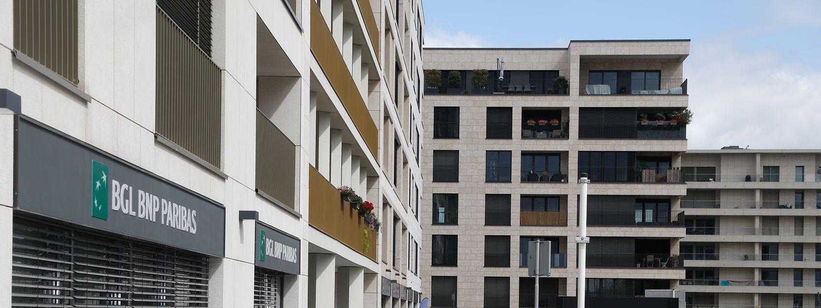 Même si près de 1.200 appartements ont déjà trouvé preneurs, la vie tarde à prendre dans le quartier.