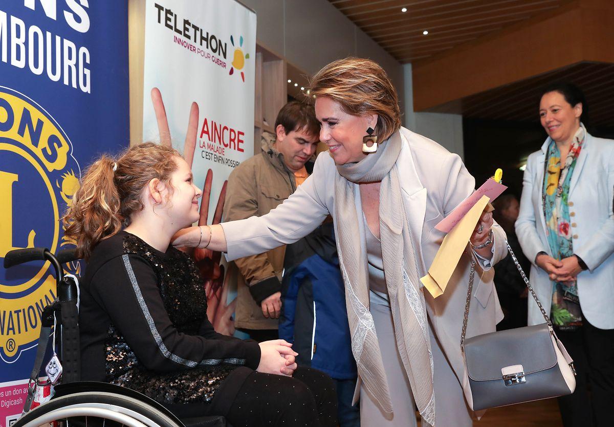 Zur Eröffnungsveranstaltung in Merl hießen die Verantwortlichen Großherzogin Maria Teresa als Ehrengast willkommen.