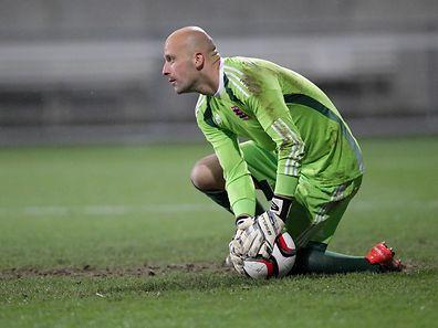 Torwart Jonathan Joubert (36)  fühlt sich gut und will noch lange weiter spielen.