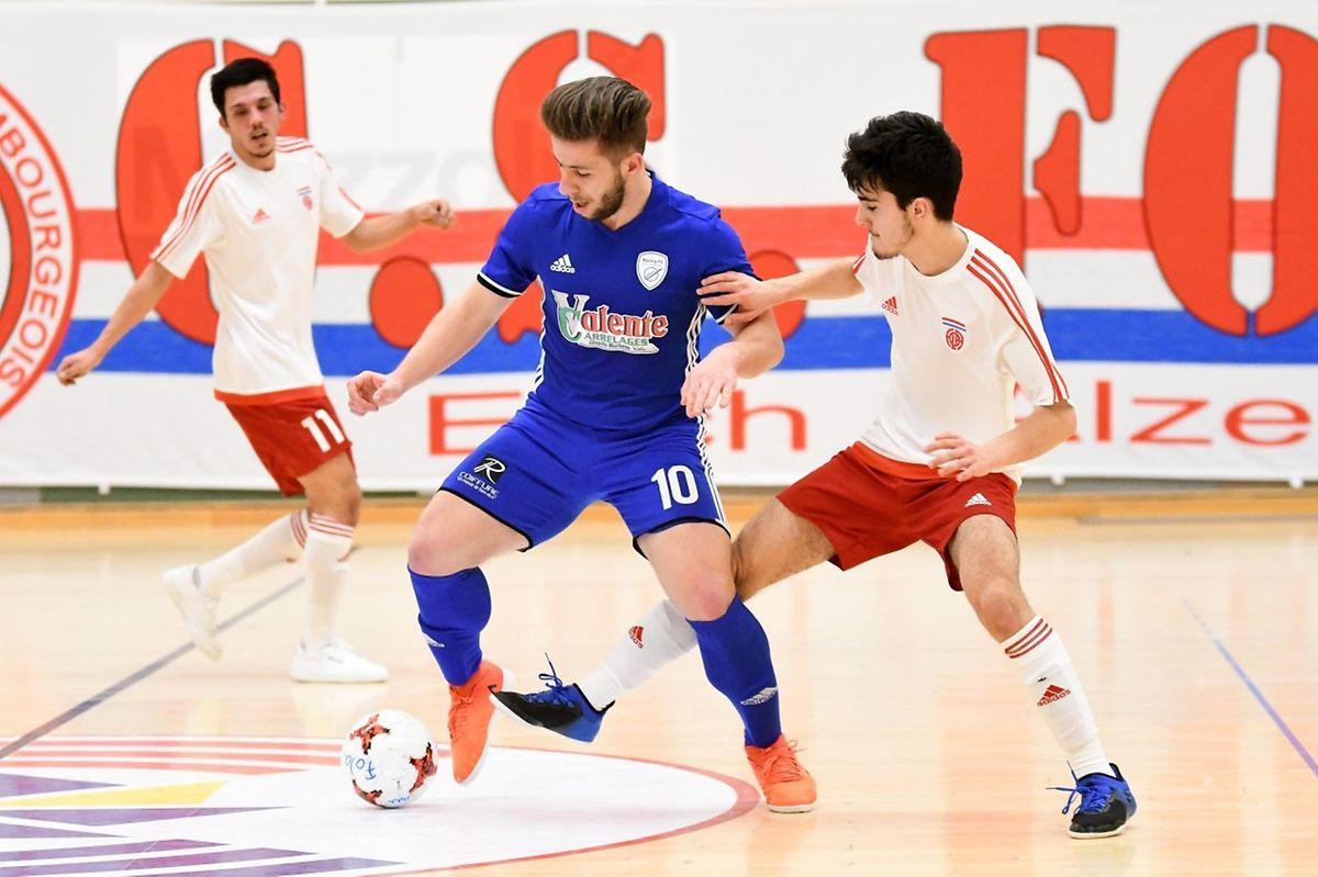 Admir Agovic et le Racing Union Luxembourg ont déroulé face au Fola Esch.