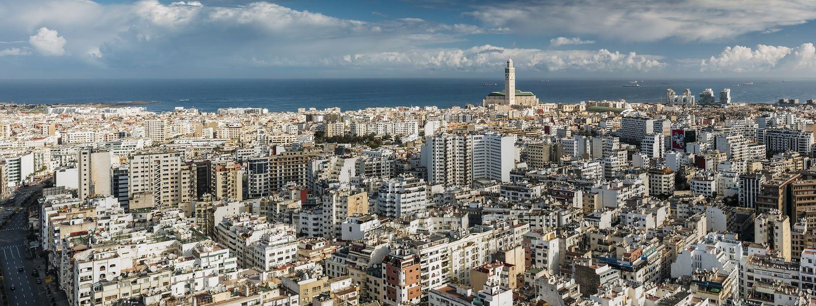 Casablanca, die größte Stadt Marokkos: Das Land zeichnet sich durch politische Stabilität und eine offene Wirtschaft aus.