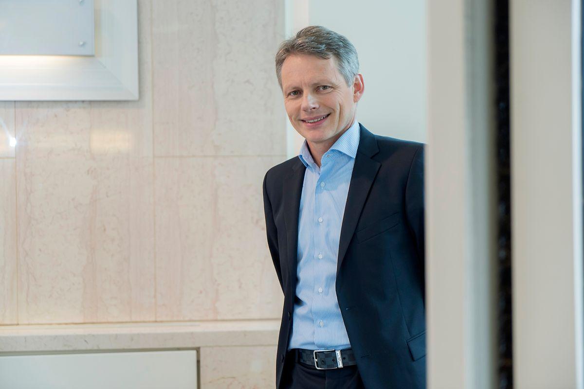 Le professeur Markus Ollert, directeur du département de recherche en allergologie et immunologie au Luxembourg Institute of Health.